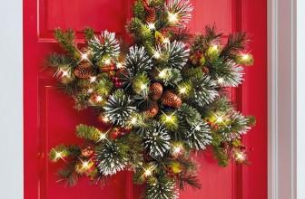 The Cordless Snowflake Wreath