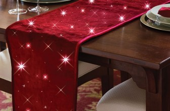 The Cordless Twinkling Table Runner
