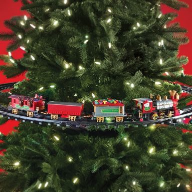 The In-Tree Christmas Train