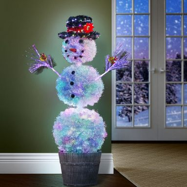 The Light Show Snowman