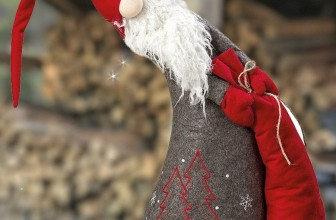 The Standing Santa Gnome Holding a Sack
