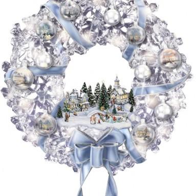 The Thomas Kinkade Glistening Wreath