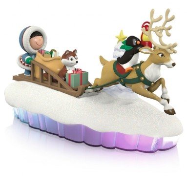 The World of Frosty Friends Ornament