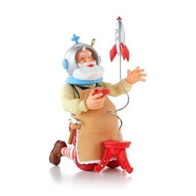 """Toymaker Santa"" Ornament"
