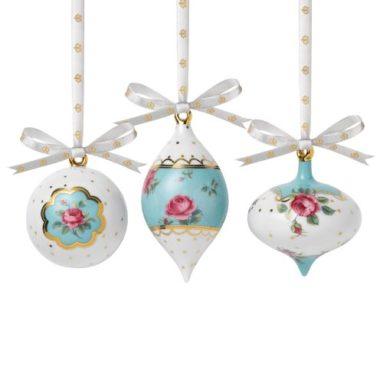 Traditional Holiday Ornaments Polka