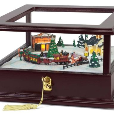 Train Showcase Music Box