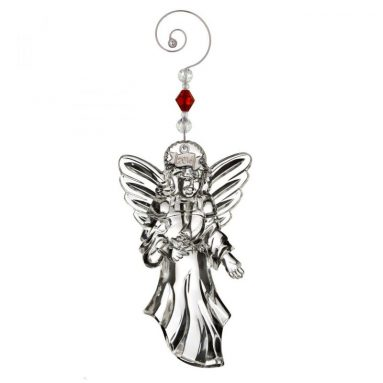Waterford Annual Floating Angel Crystal Christmas Ornament Decoration