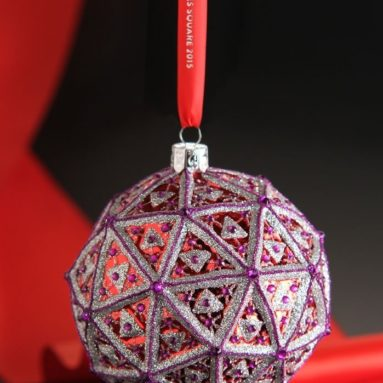 Waterford Times Square 2015 Replica Ball Ornament