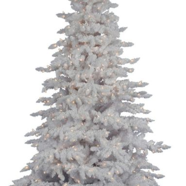 White Spruce Clear Pre-lit LED Christmas Tree