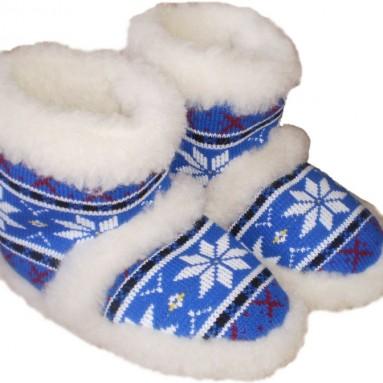 Wool Slippers Boots All Sizes Women Men Antislip Sole