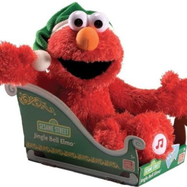 Gund Sesame Street Jingle Bells Elmo