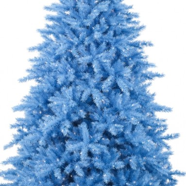 Baby Blue Artificial Christmas Tree
