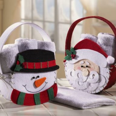 Holiday Guest Towels Set