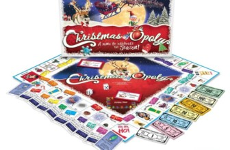 Christmas-opoly – a board game for Christmas time