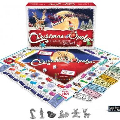 Christmas-opoly – a board game for Christmas time