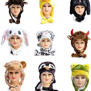 39% Discount: Plush Animal Winter Hats