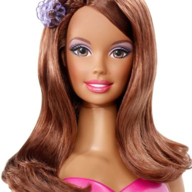 Barbie Styling African-American Head
