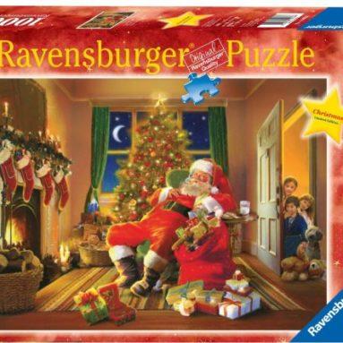 Santa's Caught 1000 Piece Christmas Puzzle