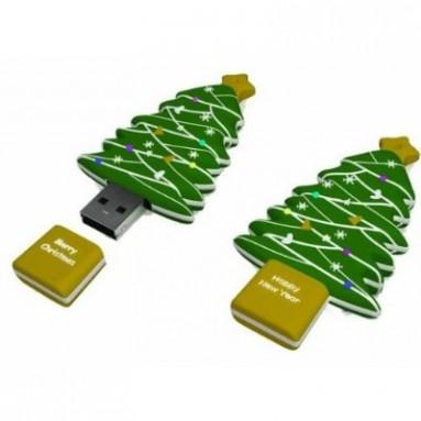 Christmas Tree USB Cartoon USB Flash Drive
