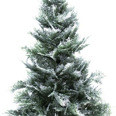 Tree Tabletop Cedar Bubble Glitter