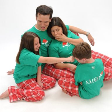 Family Christmas Flannel Pant Sets