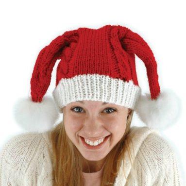 Elope Knit Santa Hat