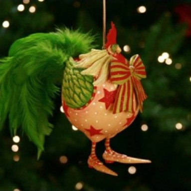 Donald The Rooster Ornament