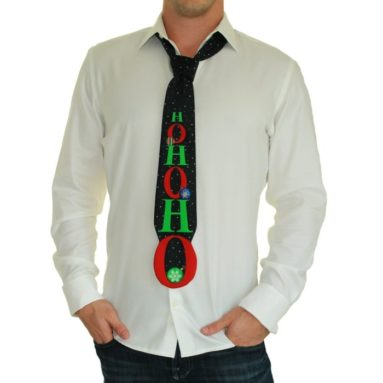 HO HO HO Tie by Tipsy Elves