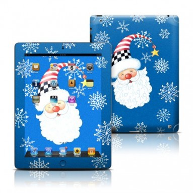 Santa Snowflake Skin Sticker for iPad 3