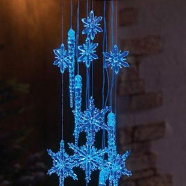 Snowflake Icicle Dangler Mobile