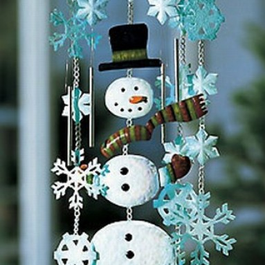 Snowman Wind Chimes